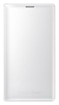 Samsung flipové pouzdro s kapsou hladké EF-WN910F pro Samsung Galaxy Note 4 (SM-N910), bílá