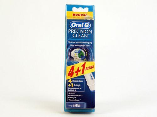 Kartáčky Braun Oral-B Precision Clean 4+1 náhradní