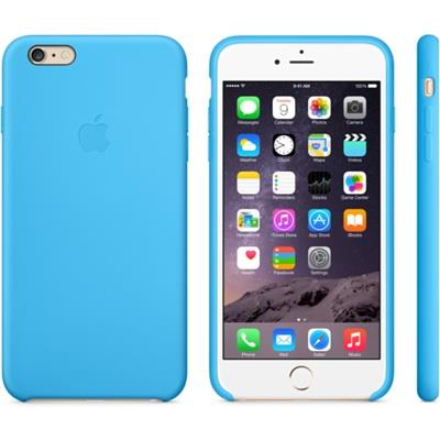 iPhone 6 Plus Silicone Case Blue