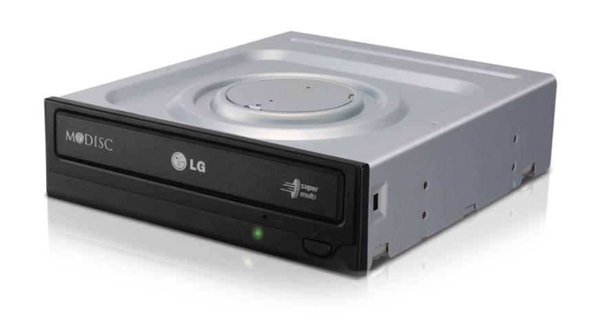 DVDRW/RAM LG GH24NS 24x SATA černá bulk