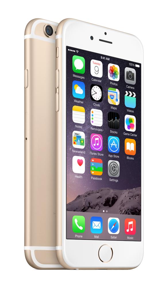 Apple iPhone 6 64GB - zlatý