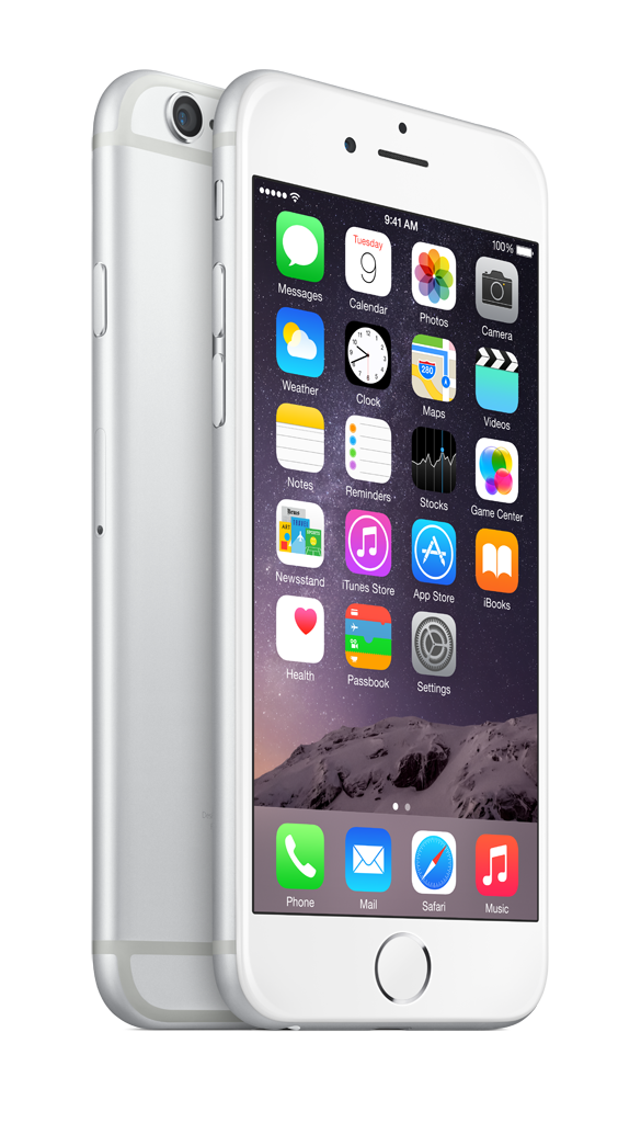Apple iPhone 6 128GB - stříbrný