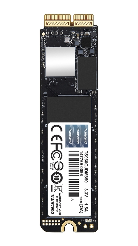 Transcend JetDrive 850 for Apple 960GB, PCIe SSD for Mac M13-M15