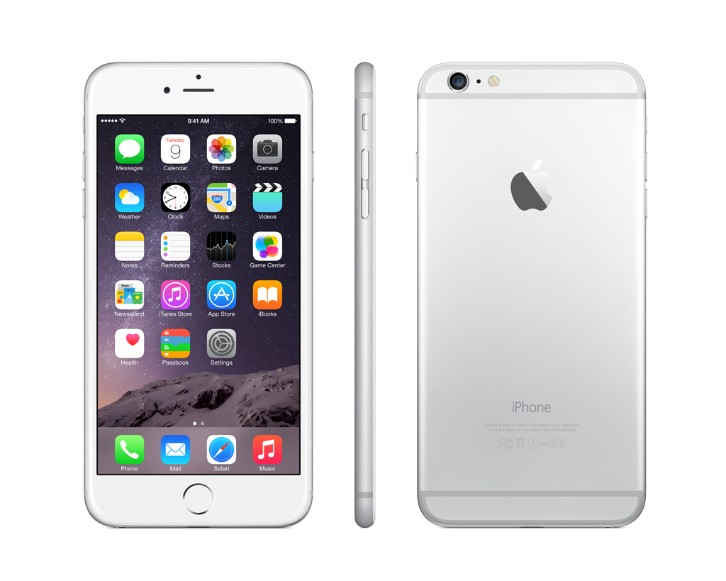 Apple iPhone 6 Plus 128GB - stříbrný