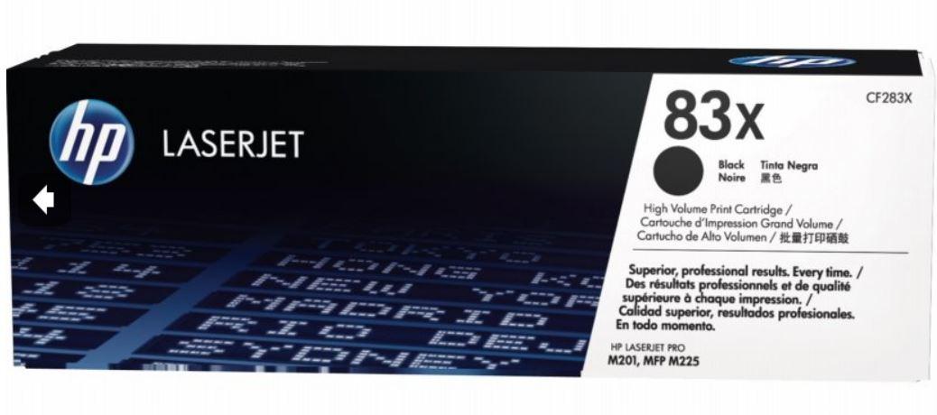 HP Toner 83X Black | LaserJet Pro M201/M225