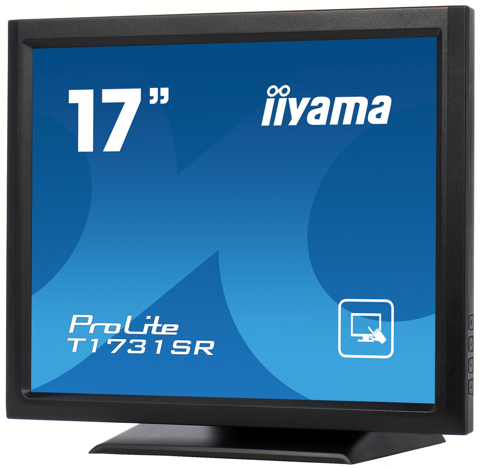 """17"""" LCD iiyama T1731SR-B1 -5 žilový,DVI,USB,RS-232"""