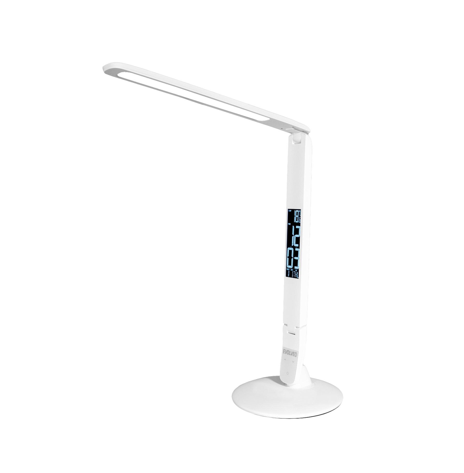 EVOLVEO Lumos IQ7, LED stolní lampa s LCD displejem