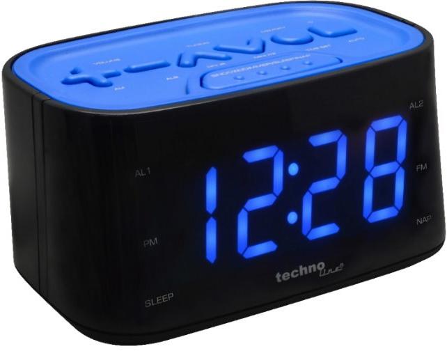 TechnoLine WT 465B - digitální budík s radiopřijímačem