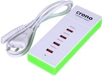 Crono USB nabíječka pro telefony a tablety, 4 x USB, 5 V, 5.1 A