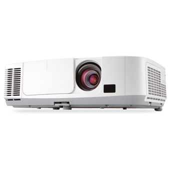 NEC projektor P401W - WXGA, 3LCD, 4000lm, 1,7x zoom lens, Lens shift, H/V keystone, 6000h lamp life, WiDi optional
