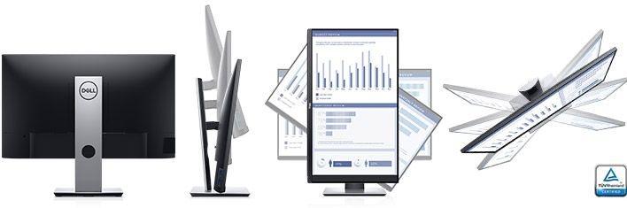 "Dell Professional P2719H 27"" Full HD/8ms/1000:1/VGA/HDMI/USB/DP/IPS panel/cerny"