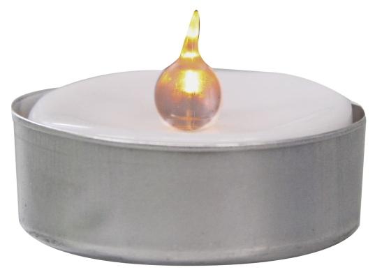 Emos LED čajová svíčka, 1x LED, 1x CR2032, 2 ks