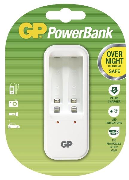 GP PowerBank 410 nabíječka (PB410), plug-in