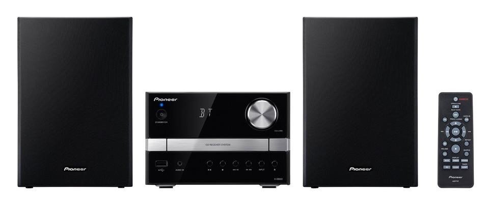 Pioneer systém s CD,USB,BT černostříbrný