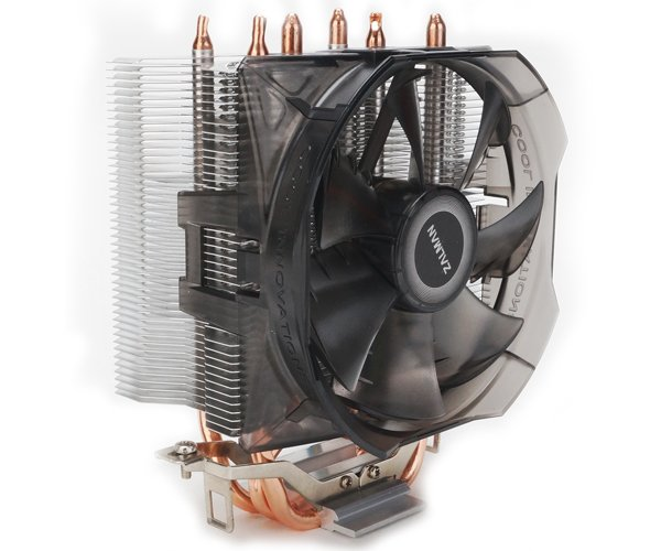 Zalman chladič CPU CNPS8X OPTIMA, univ. socket, 100mm PWM fan, 3x heatpipe