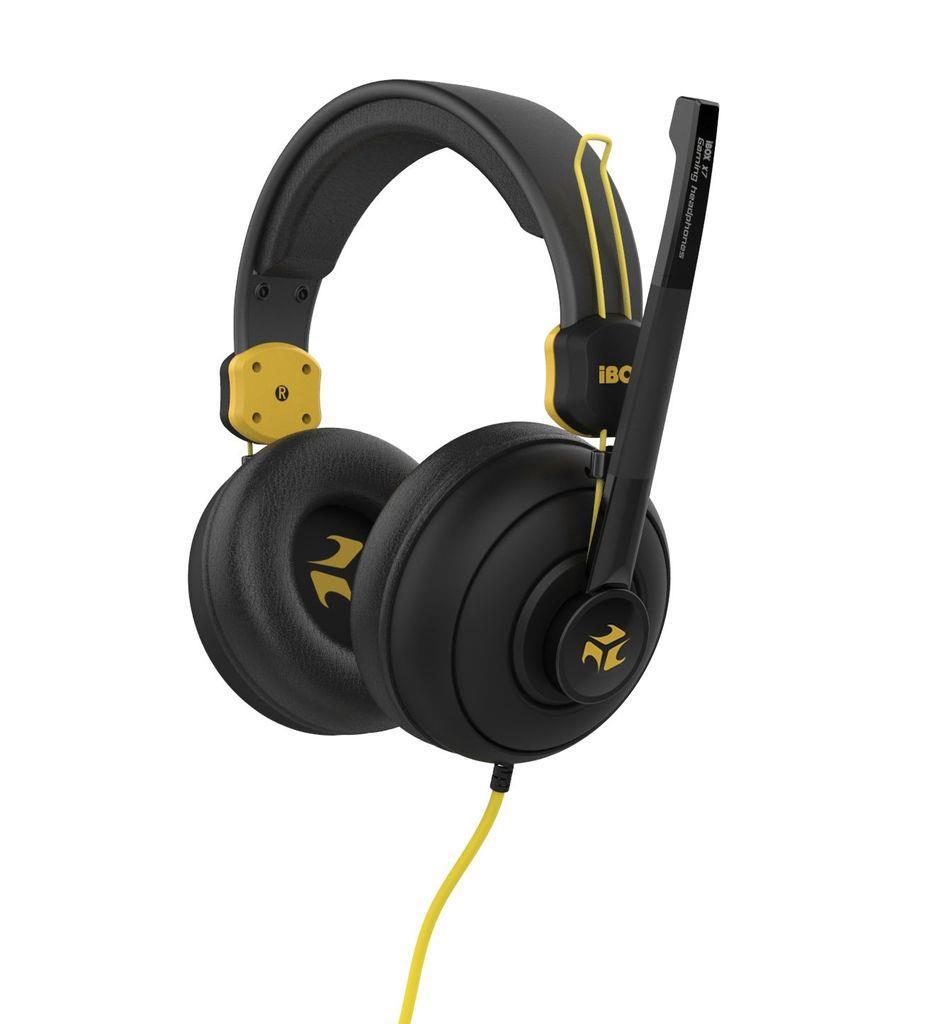I-BOX X7 BLACK herní sluchátka