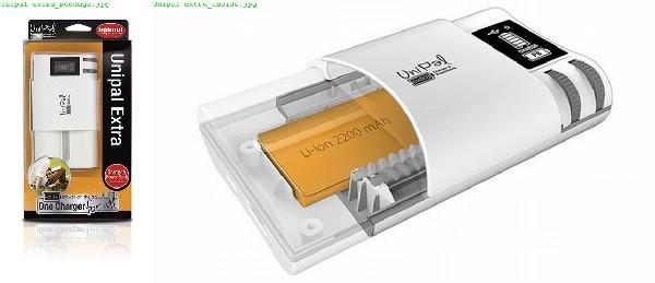 Hähnel UniPal EXTRA - univerzální nabíječka + power bank, (Li-Ion, AA Ni-MH, USB)