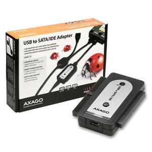 AXAGON USB2.0 - SATA/IDE adapter vč.AC