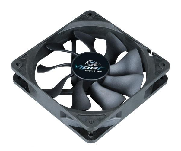 ventilátor Akasa - 12 cm VIPER S-flow