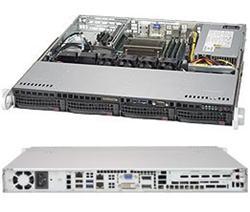"""SUPERMICRO 1U server 1x LGA1151, iQ170 (i7), 4x DDR4, 4x 3.5"""" HS SATA3, 350W, IPMI"""
