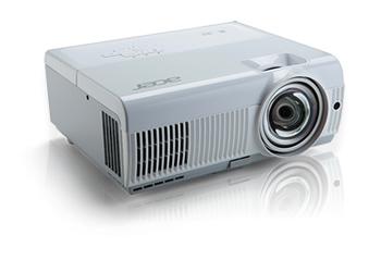 Acer S1283Hne DLP 3D ST Lens, XGA 1024x768, 3100 ANSI, 13000:1, HDMI(MHL) ,2,8Kg
