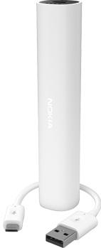 Nokia DC-16 externí baterie 2200mAh, micro USB, bílá