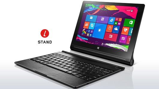 "Lenovo Yoga TABLET 2 Intel Z3745 1,86GHz/2GB/32GB/10,1"" FHD/IPS/LTE 4G+3G/klávesnice/WIN8.1 32bit černá 59429205"