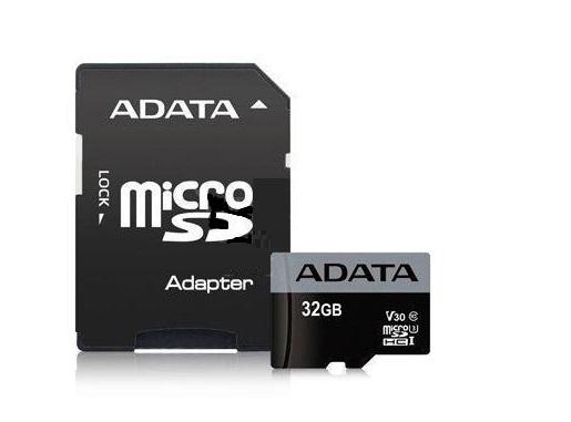 ADATA Premier Pro microSDHC 32GB karta Class 10 UHS-I 95/50 MB/s+adaptér
