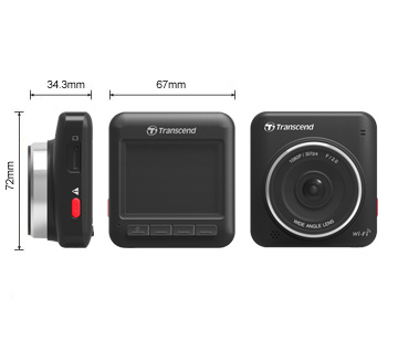 "Transcend DrivePro 200 Car Video Recorder, kamera do auta, úhel 160°, G senzor, 2,4"" LCD"