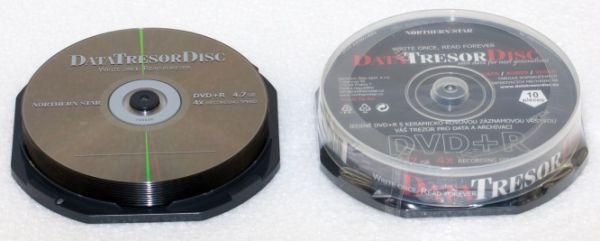 Média DVD+R DTD 160let životnost 4,7GB 4x, 10ks cb