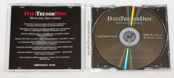 Média DVD+R DTD 160let životnost 4,7GB 4x, 1ks jb