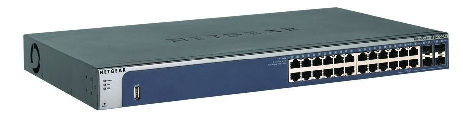Netgear M4100-26G L2+ Managed Switch 26xGigabit, 4x SFP shared (GSM7224)