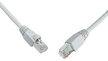 Patch kabel CAT5E SFTP PVC 3m šedý snag proof