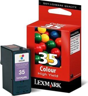 Barevná velká cartr. #35 pro Z8xx, X52xx, P91x, P6250, X7170, P4350, X33xx