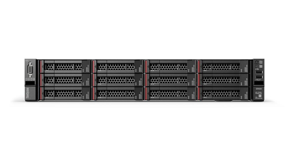 """Lenovo ThinkSystem SR550 1x Silver 4108 8C 1.8GHz 85W/1x16GB/0GB 2,5""""(8)/530-8i/XCC-S/750W"""