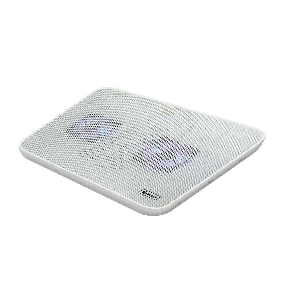VAKOSS Chladící podložka pod notebook 17'' LF-2468WW bílá