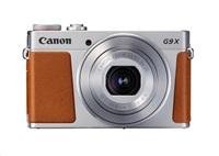 Canon PowerShot G9X Mark II, 20MPix, 3x zoom, Wi-Fi, NFC - stříbrný