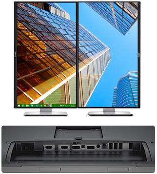"Dell UltraSharp U2715H 27"" WQHD(2560x1440) 6ms/1000:1/2xHDMI/DP/mini DP/USB 3.0/IPS panel/tenký rámeček/cerny"