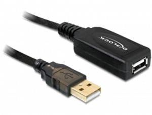 Delock prodlužovací kabel USB 2.0 A samec-samice 15 m