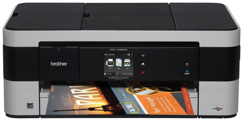 BROTHER multifunkce inkoustová MFC-J4420DWYJ1 - A3, A4 sken, 35ppm, 128MB, 1200x6000, GDI, USB, WiFi, dup A4, 20ADF