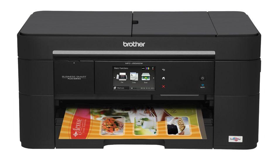 Brother MFC-J5620DW, tiskárna/kopírka/skener/fax, tisk na šířku, duplexní tisk, síť, ethernet, WiFi, dotykový LCD