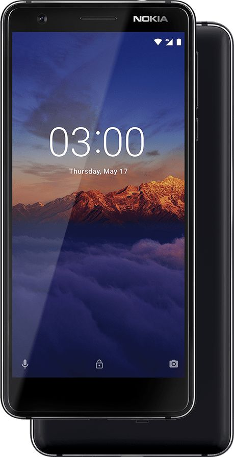 Nokia 3.1 Single SIM Black