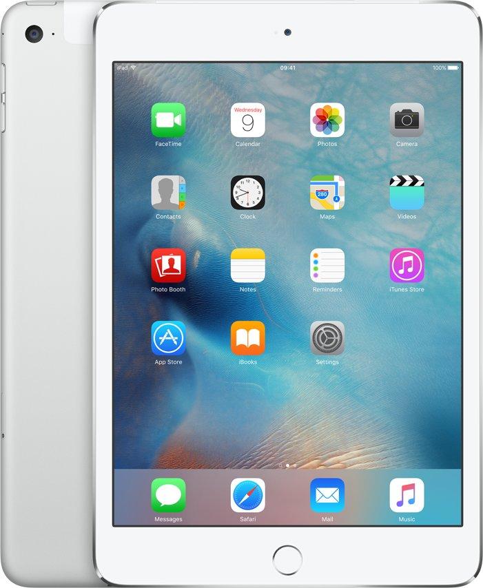 iPad mini 4 Wi-Fi Cell 128GB Silver