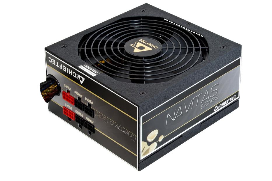 Chieftec zdroj Navitas Series GPM-650C, 650W, 80PLUS Gold