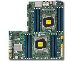 SUPERMICRO MB 2xLGA2011-3, iC612 16x DDR4 ECC,10xSATA3,(PCI-E 3.0 (Lx32),2x 10GbE,IPMI