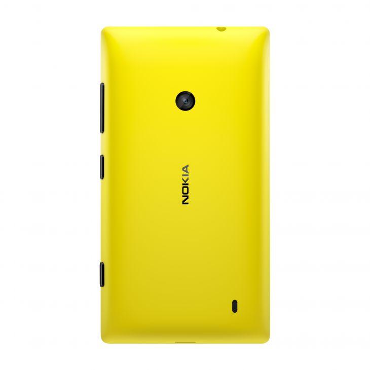 Nokia Lumia 520 Yellow Kryt Baterie
