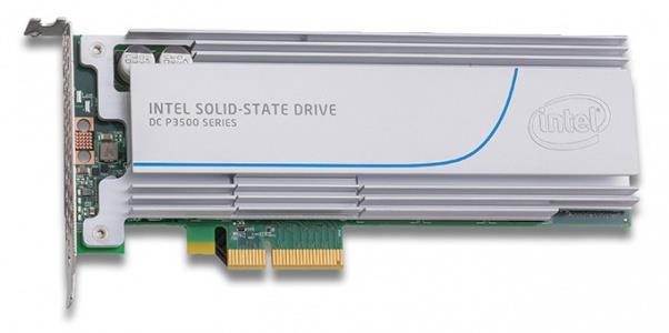 Intel® SSD DC P3500 Series (400GB, 1/2 Height PCIe 3.0, 20nm, MLC)