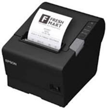 EPSON pokl.TM-T88V,černá,USB+serial,zdroj, kabel