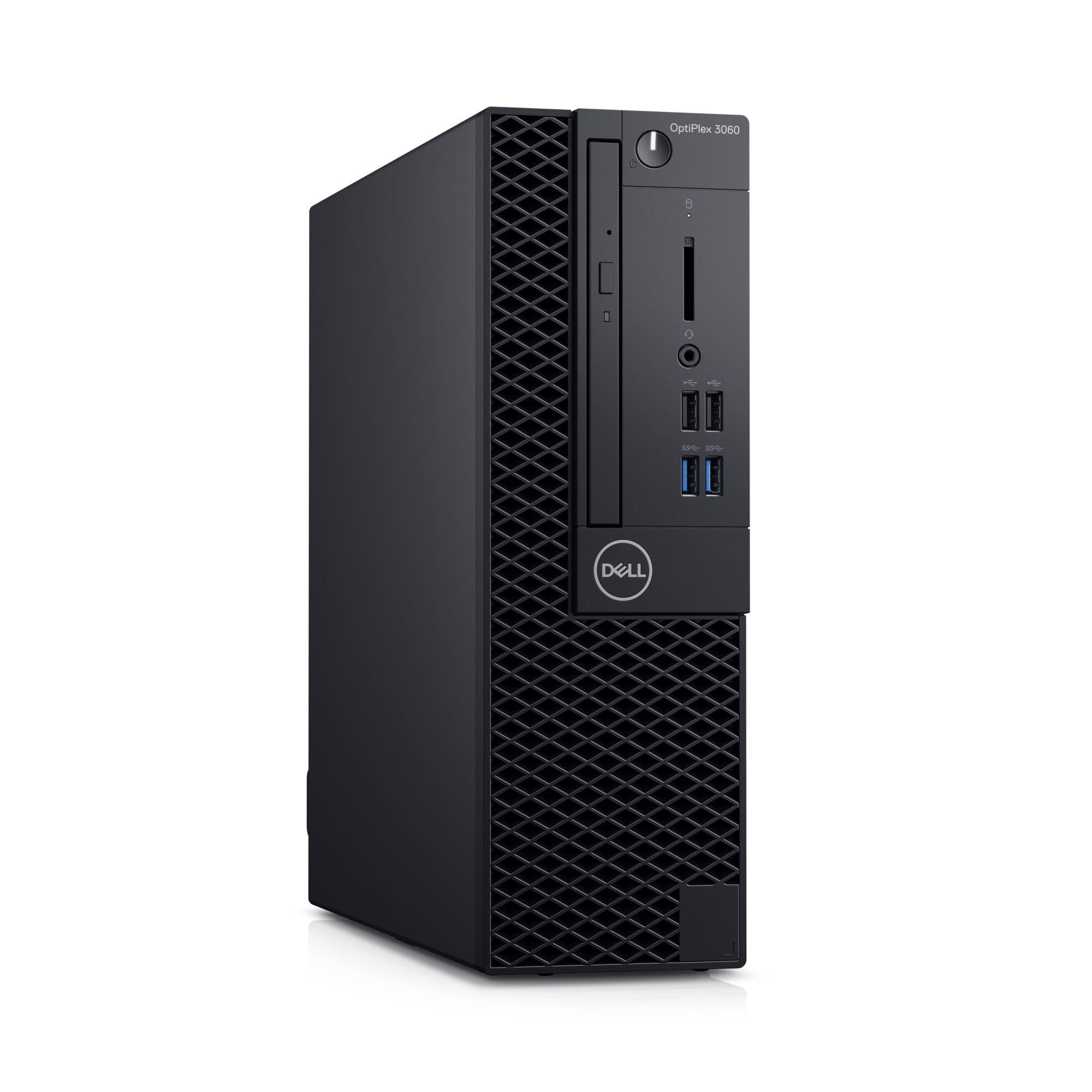 DELL OptiPlex SFF 3060/Core i3-8100/4GB/500GB/Intel UHD/DVD-RW/Win 10 Pro 64bit/3Yr NBD