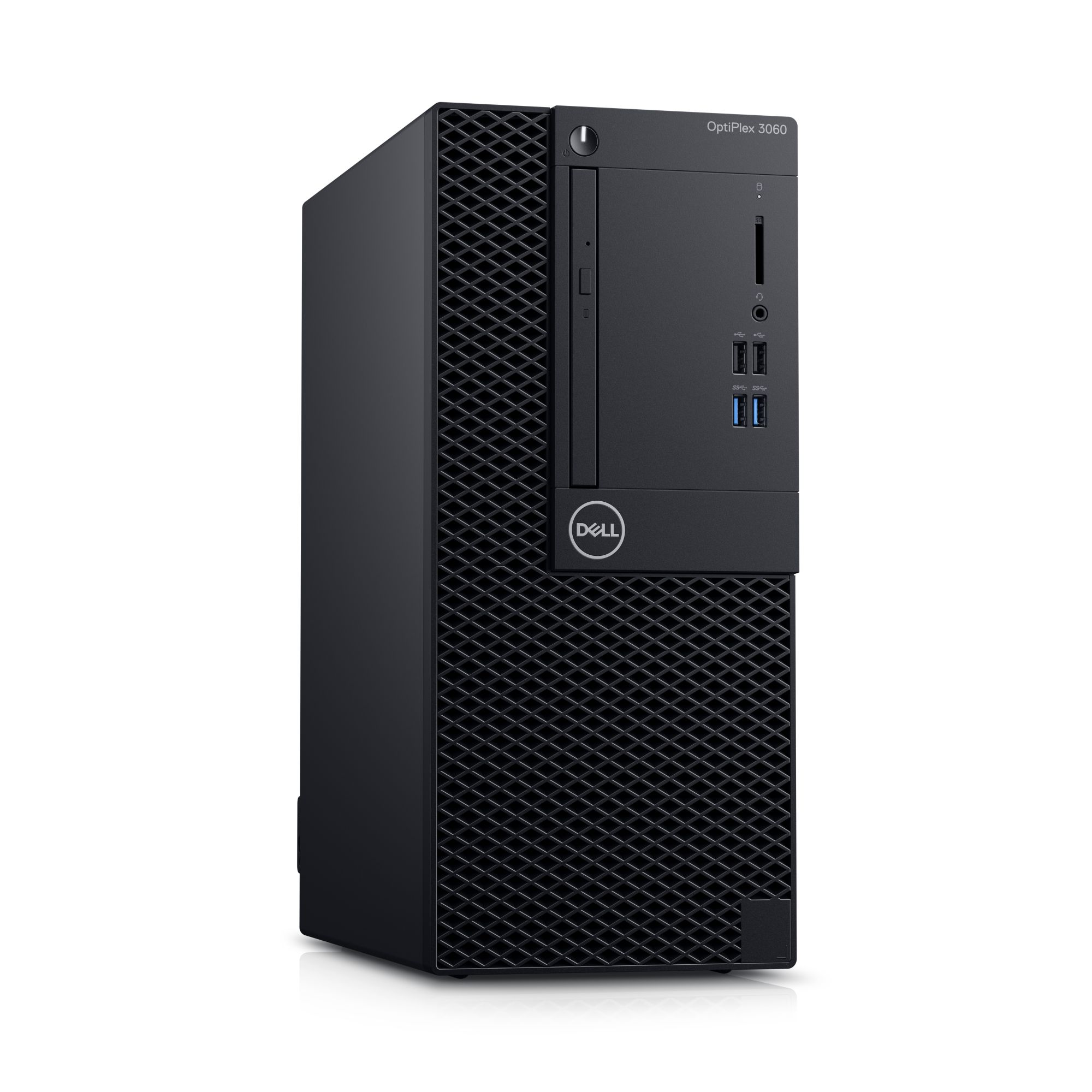 DELL OptiPlex MT 3060/Core i3-8100/4GB/1TB/Intel UHD/DVD-RW/Win 10 Pro 64bit/3Yr NBD